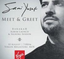 British singer-songwriter Sami Yusuf is launching his new album Barakah