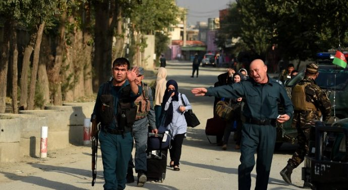 Hours-long attack on American university at Afghanistan kills sixteen