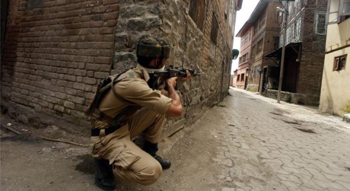 Monday Nine killed in Kashmir clashes on Independence Day