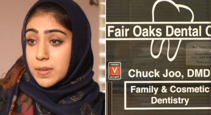 Muslim women who wear the hijab at work in Dental Center fired