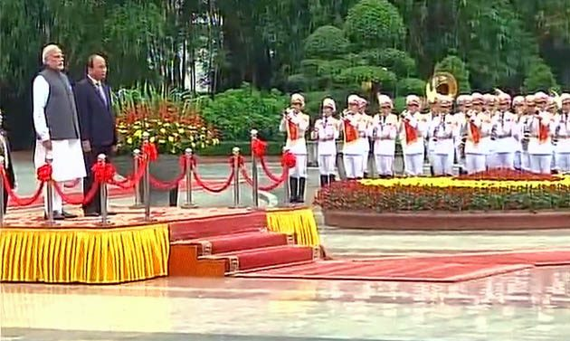 Bringing the war in Vietnam were destroyed, bringing the Buddha were immortalized: Modi