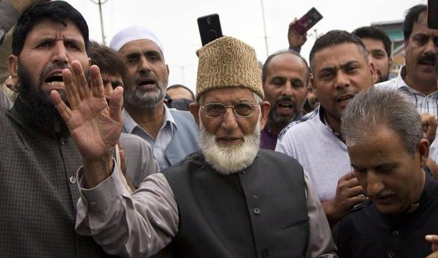 Fear of losing security breaches Pakistan-China separatist Geelani love