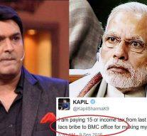 I am paying 15cr income tax : Kapil Sharma