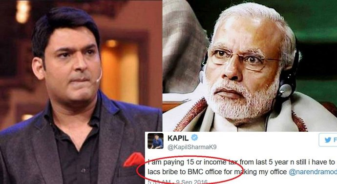I am paying 15cr income tax : Kapil Sharma