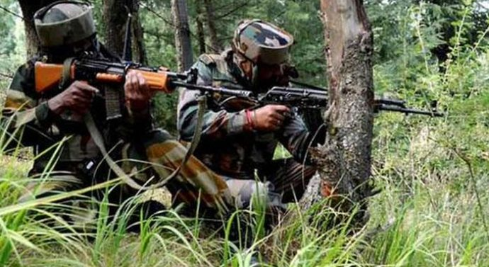 J & K gun battles with militants