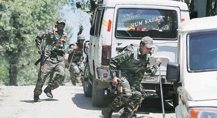 Militants in Uri are infiltrated stacks Nowgam encounter 5 terrorists continue