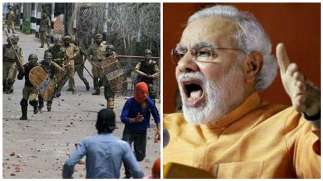 Modi's roar in Kashmir