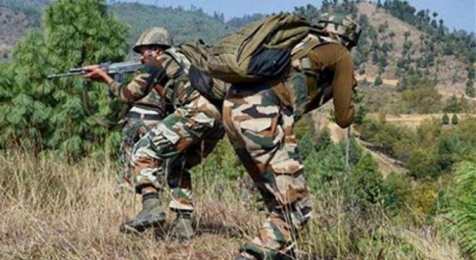 Pakistan violated ceasefire, the cross-border firing in Uri sector
