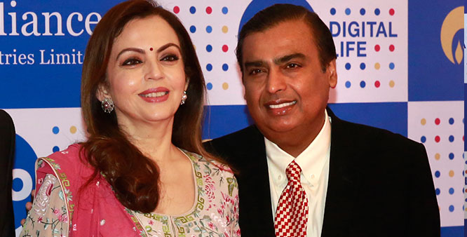 "Reliance Jio 10 Srpraijing offers, Mukesh Ambani said, people now 'Datagiri ""Us"