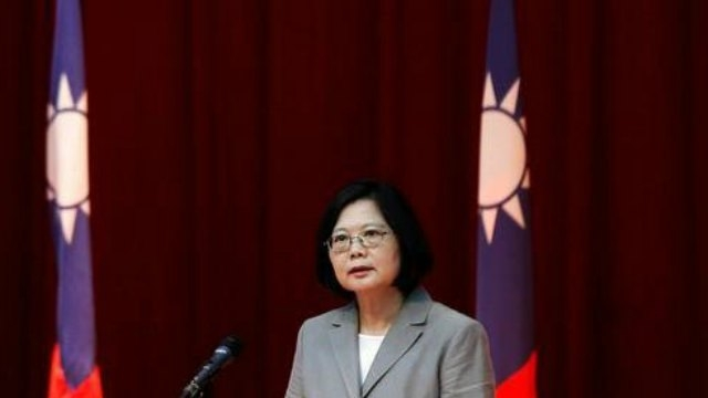 Then broke out with India in Beijing, China's flag will: Taiwan