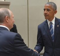 US president Obama and Vladimir Putin meet in China summit amid struggle for Syria deal