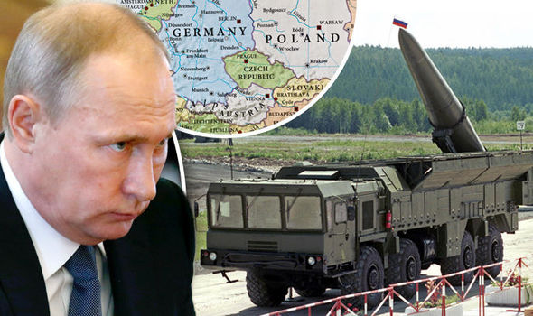 Russia deployed nuclear missiles in the Baltic region