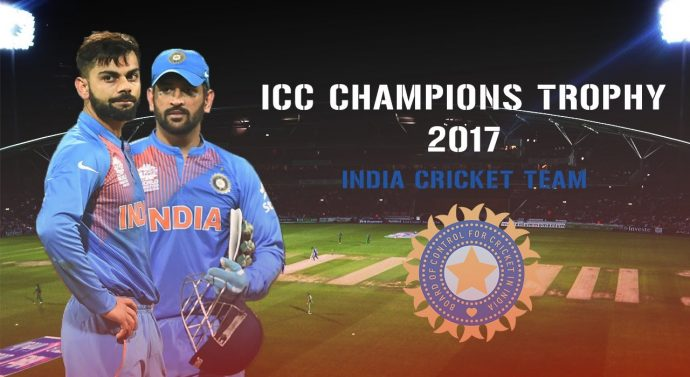 Indian Cricket Team Squad For ICC Champions Trophy 2017