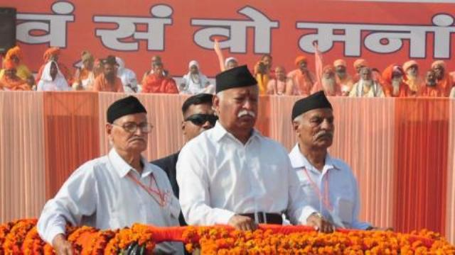 Mohan Bhagwat looks to consolidate Hindu votes in UP, Bihar