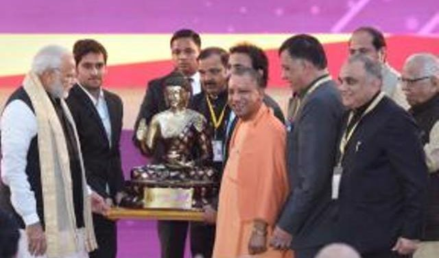 Uttar Pradesh Signs Rs 4.28 Lakh Crore (MOU) on Day 1 of Investors' Summit