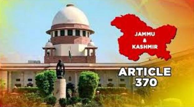 Kashmir: The Supreme Court will today hear around 10 petitions related to abrogation of Article 370