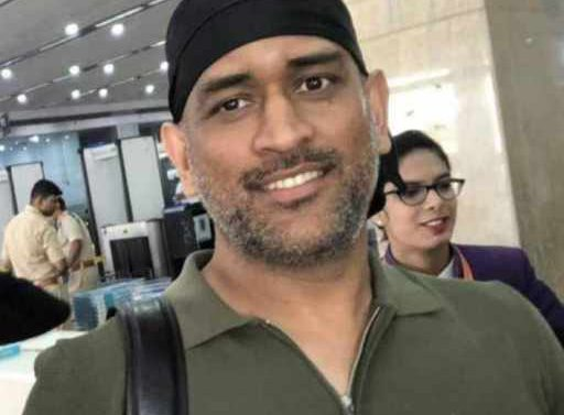 Dhoni spots commando look, fans surprised after seeing style, VIDEO viral