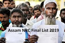 Assam NRC final list 2019