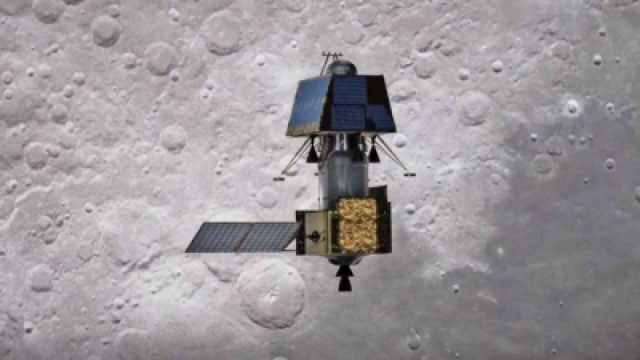 Vikram Lander ready to touch the moon, 35 KM is moving away