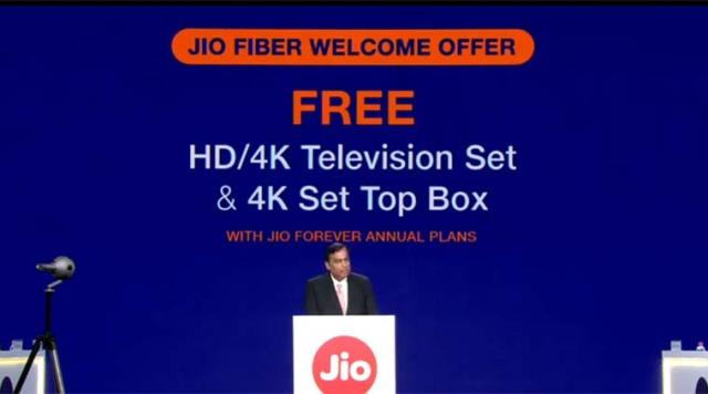 Jio Fiber broadband launch today: Plans, set-top box offer