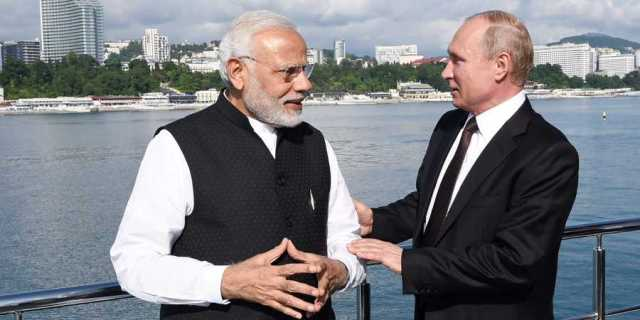 Total 15 agreements signed between India and Russia
