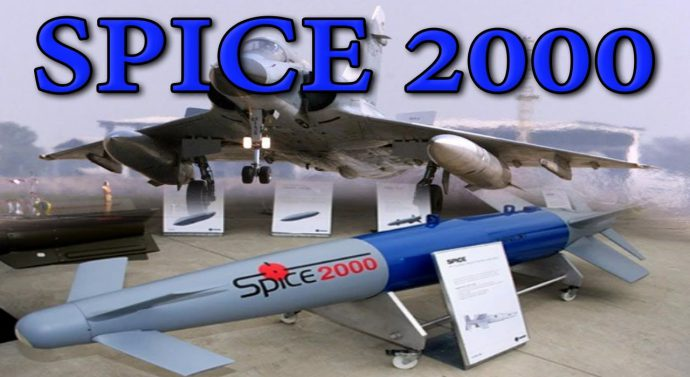 Air Force gets first batch of laser guided spice bombs
