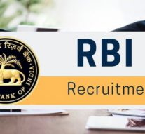 jobs in RBI, graduate apply