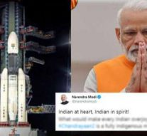LIVE: PM Modi on the Chandrayaan 2 mission