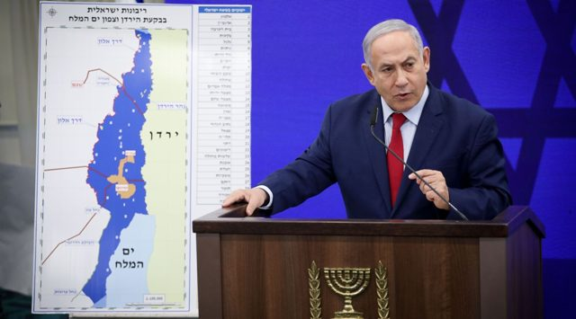 Announcement of Netanyahu before voting- If he wins the election, he will occupy the West Bank