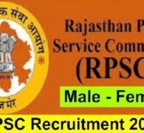 Recruitment in Rajasthan Public Service Commission