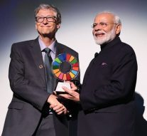 PM Modi receives Global Goalkeeper Award, says 130 crore Indians honored