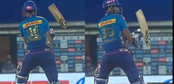 Jamieson breaks MI all-rounder Krunal Pandya bat into two – Watch