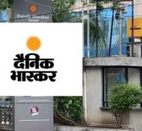 Tax Raids at Media Group Dainik Bhaskar