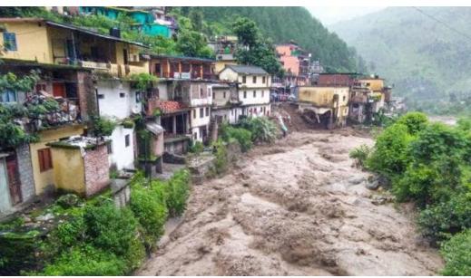 Heavy rain in Delhi, Uttarakhand cloudburst kills three in Uttarkashi