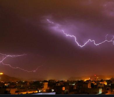 Lightning Strike Kills Selfie Takers in Jaipur