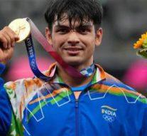 Olympic Gold-Medal Winner Neeraj Chopra