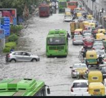 Heavy Rain in Delhi Causes Waterlogging, Traffic Snarls