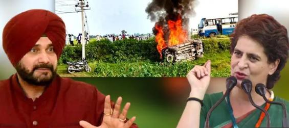 Navjot Sidhu Warns UP Over Priyanka Gandhi Arrest